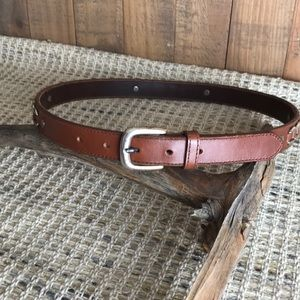 Fossil Leather Belt Size 30-32